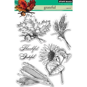 Penny Black Grateful Stamp Set