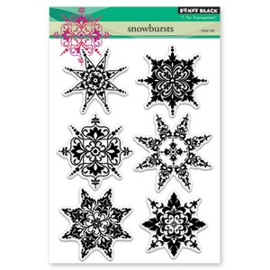 Penny Black Snowbursts Stamp Set