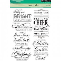Penny Black Festive Cheer Stamp Set
