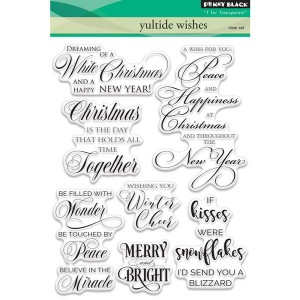 Penny Black Yuletide Wishes Stamp Set