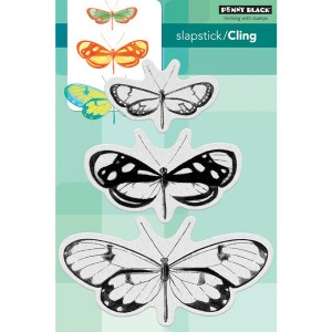 Penny Black Butterfly Trio Stamp Set