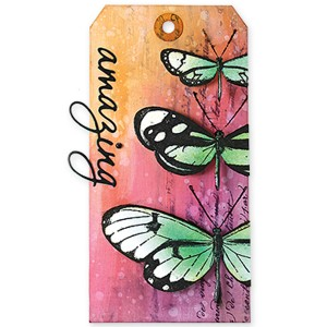 Penny Black Butterfly Trio Stamp Set class=