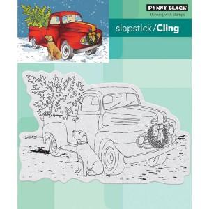 Penny Black Triumphant Slapstick/Cling Stamp