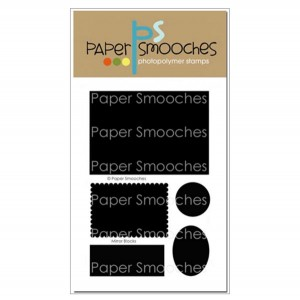 Paper Smooches Mirror Blocks Stamp Set class=