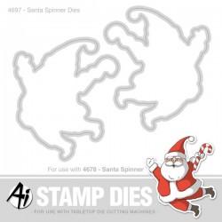 Art Impressions Santa Spinner Die Set