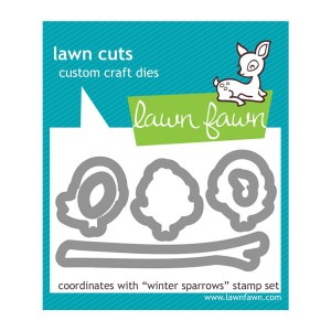 Lawn Fawn Winter Sparrows Lawn Cuts (dies)