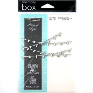 Memory Box Strings of Lights Craft Dies class=