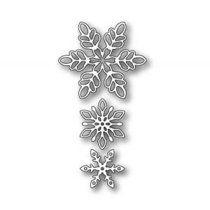 Memory Box Shimmering Snowflakes Die Set