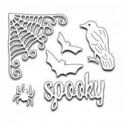 Penny Black Halloween Creatures Die Set