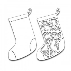 Penny Black Christmas Stockings Creative Dies