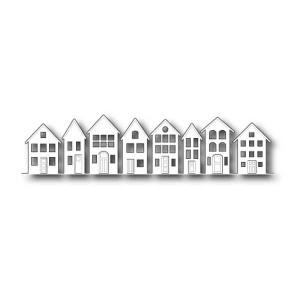 Poppystamps Brevilla Houses Craft Die