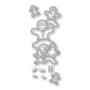 Poppystamps Stacked Gingerbread Die Set
