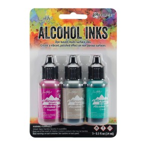 Tim Holtz Alcohol Inks – Valley Trail