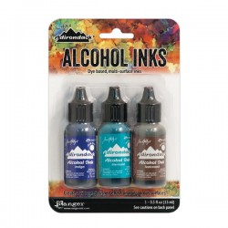 Tim Holtz Alcohol Inks - Mariner
