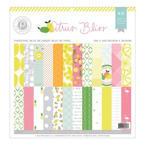 Pink Paislee Citrus Bliss Paper Pad