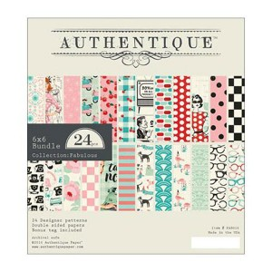 Authentique Fabulous Double-Sided Cardstock Pad
