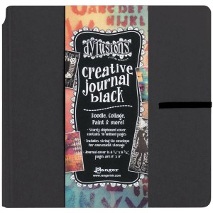 Dyan Reaveley's Black Dylusions Creative Journal class=