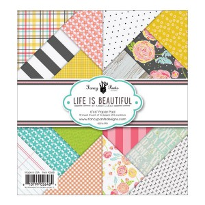 Life Is Beautiful Designs paper pad by Fancy Pants.