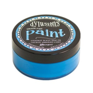 Dylusions Blendable Acrylic Paint - London Blue