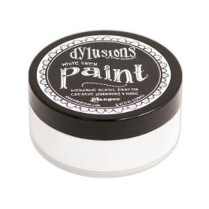 Dylusions Blendable Acrylic Paint - White Linen class=