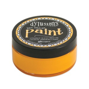 Dylusions Blendable Acrylic Paint - Pure Sunshine class=
