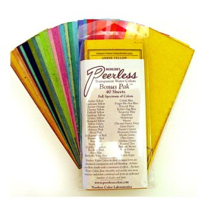 Peerless Watercolor Set of 40 Bonus Colors