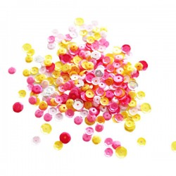 Neat & Tangled Pink Lemonade Sequin Mix