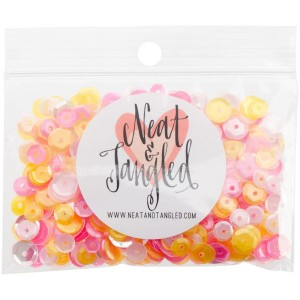 Neat & Tangled Pink Lemonade Sequin Mix class=
