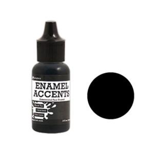 Ranger Enamel Accents - Black Tie