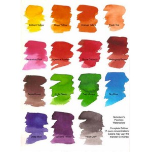 Peerless Watercolor 15 Color Set class=