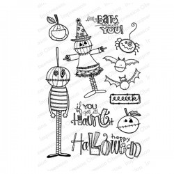 Impression Obsession Bats About You Stamp Set
