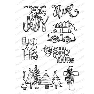 Impression Obsession Tidings of Joy Stamp Set class=