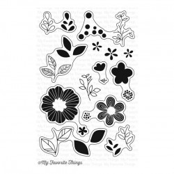 My Favorite Things Bold Blooms Stamp Set