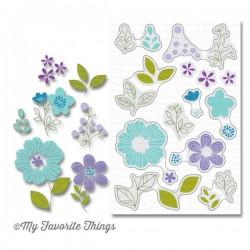My Favorite Things Bold Blooms Stamp Set