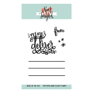 Neat & Tangled Please Deliver Stamp Set