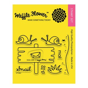 Waffle Flower Snail Mail Stamp Set