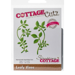 Cottage Cutz Leafy Vines Die