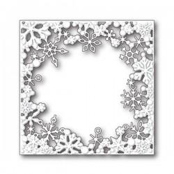 Memory Box Dancing Snowflake Square Craft Die