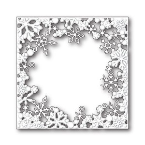 Memory Box Dancing Snowflake Square Craft Die