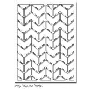 My Favorite Things Die-namics Split Chevron Cover-Up