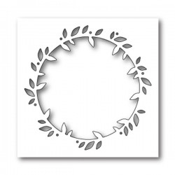 PoppyStamps Folium Frame Craft Die