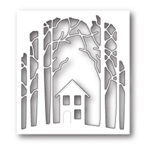 PoppyStamps House in the Woods Craft Die