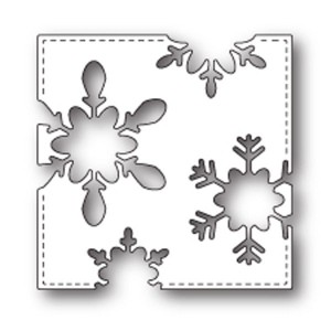 PoppyStamps Stitched Snowflake Craft Die