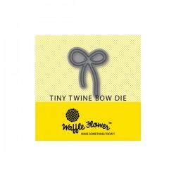 Waffle Flower Twine Bow Die