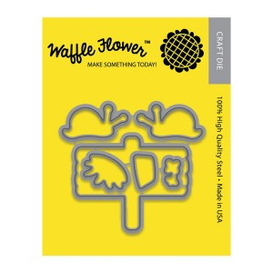 Waffle Flower Snail Mail Die Set