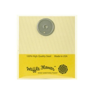 Waffle Flower Tag Hole Reinforcer Die
