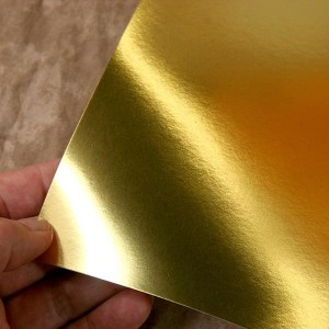 Gold Foil Card Stock