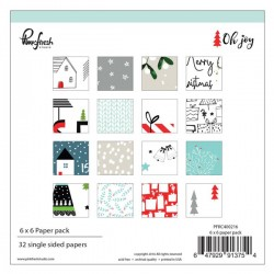 "Pinkfresh Studio Oh Joy Double-Sided Paper Pack - 6""X6"""
