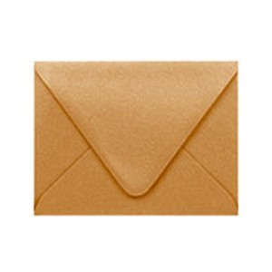 Paper Source Antique Gold A2 Envelope - 10 count class=