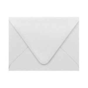 Paper Source Shimmer Silver A2 Envelope - 10 count